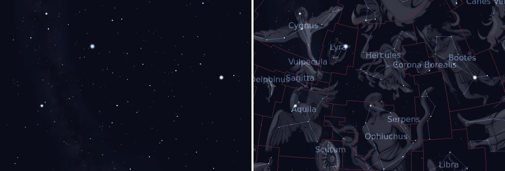 созвездие геркулес звезды